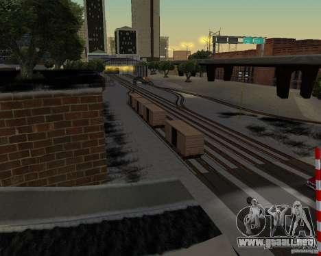 Nueva estación de ferrocarril para GTA San Andreas segunda pantalla