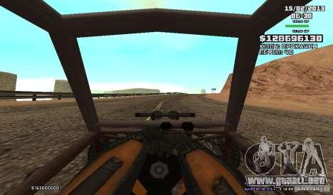 Gordon Freeman para GTA San Andreas sucesivamente de pantalla