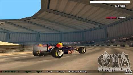 Ferrari F1 RedBull para GTA San Andreas left