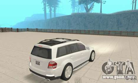 Mercedes-Benz GL450 para GTA San Andreas left