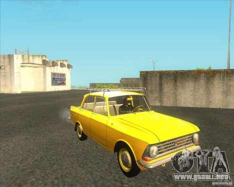 Moskvich 408 para GTA San Andreas