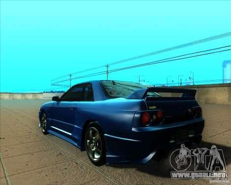 Nissan Skyline GT-R R32 1993 Tunable para GTA San Andreas interior