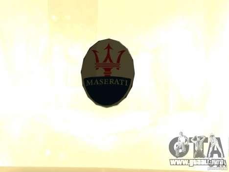 Maserati GranCabrio 2011 para la visión correcta GTA San Andreas