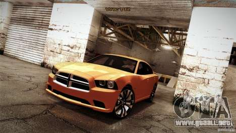 Dodge Charger SRT8 2012 para visión interna GTA San Andreas
