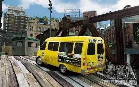 Gacela 2705 Taxi v 2.0 para GTA 4 left