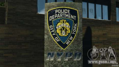 Remake second police station para GTA 4 adelante de pantalla