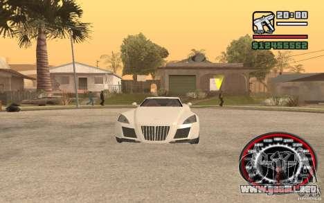 Maybach Exelero para la visión correcta GTA San Andreas