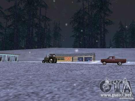 Nieve para GTA San Andreas sexta pantalla