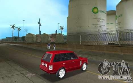 Range Rover Vogue 2003 para GTA Vice City visión correcta