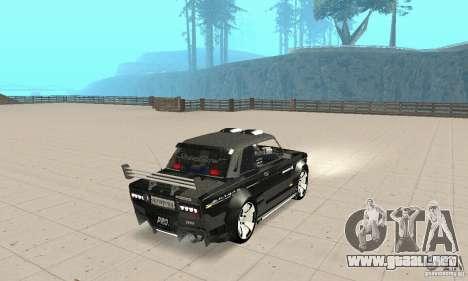 Tunning 2106 VAZ Fantasy ART para GTA San Andreas left