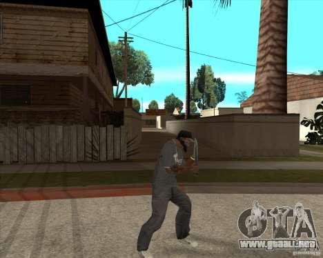 Rambo HD para GTA San Andreas tercera pantalla
