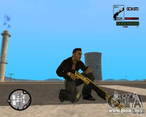 Shotgun Gold para GTA San Andreas