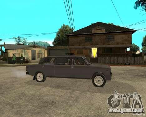 VAZ 2105 Limousine para la visión correcta GTA San Andreas