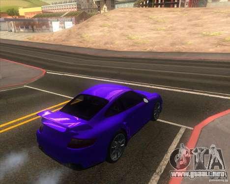Porsche 911 GT2 (997) para GTA San Andreas left