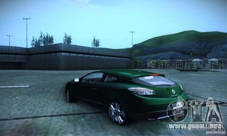 Renault Megane Coupe para GTA San Andreas left