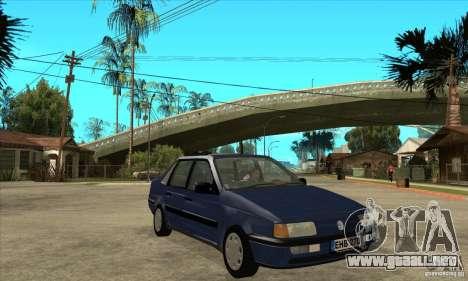 Volkswagen Passat B3 Stock para GTA San Andreas vista hacia atrás