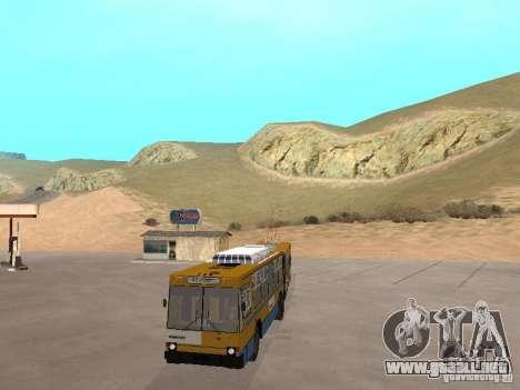YUMZ T1 para visión interna GTA San Andreas