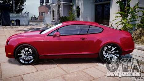 Bentley Continental SS v2.1 para GTA 4 left