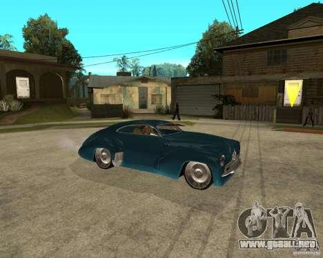 Holden Efijy para la visión correcta GTA San Andreas