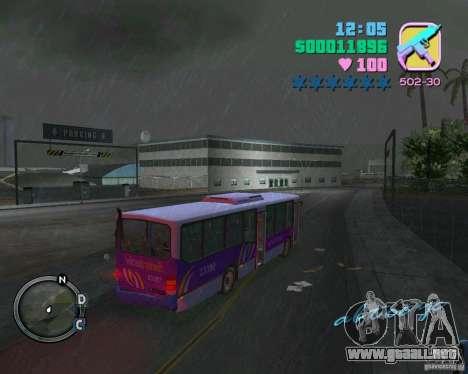 Marcopolo Bus para GTA Vice City visión correcta