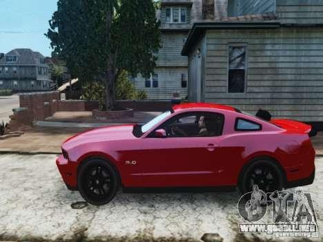 Ford Mustang GT 2011 para GTA 4 left