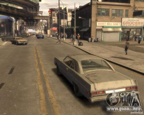1975 Dodge Dart Rust para GTA 4 left