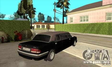 GAZ 3110 sedán para la visión correcta GTA San Andreas