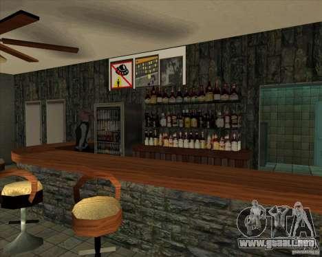 Nuevas muestras de Lil taberna para GTA San Andreas sucesivamente de pantalla