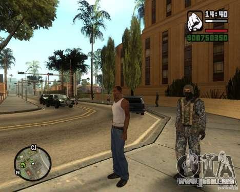 POLICÍA antidisturbios rusa para GTA San Andreas tercera pantalla