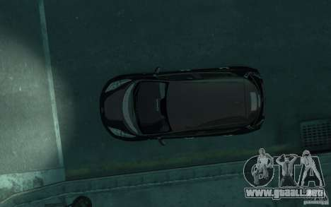 Nissan Leaf 2011 para GTA 4 vista interior