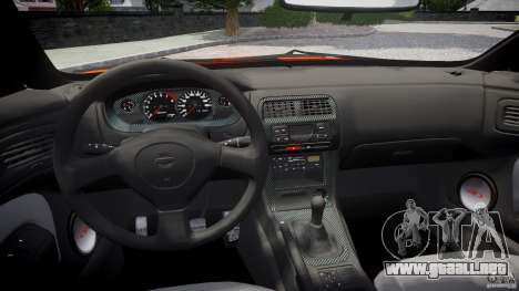 Nissan Silvia Ks 14 1994 v1.0 para GTA 4 vista superior