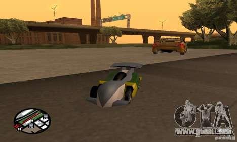 Vehículos RC para GTA San Andreas octavo de pantalla