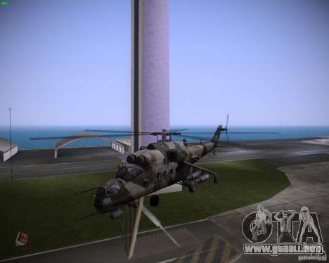 Mi-35 para GTA Vice City left