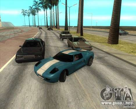 MOD de Jyrki para GTA San Andreas segunda pantalla