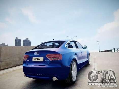Audi A5 Sportback para GTA 4 left