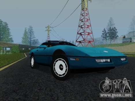 Chevrolet Corvette C4 1984 para GTA San Andreas left