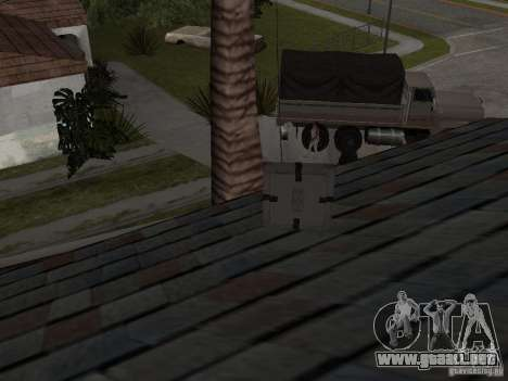 Weapon Pack para GTA San Andreas octavo de pantalla