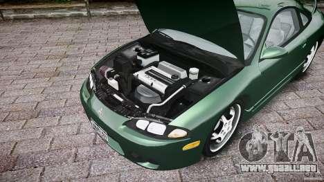 Mitsubishi Eclipse 1998 para GTA 4 vista hacia atrás