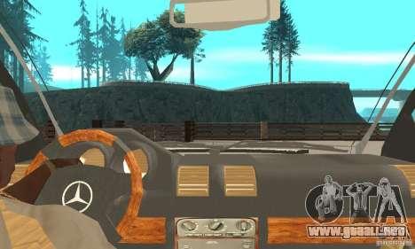 Mercedes-Benz R-Class para la visión correcta GTA San Andreas
