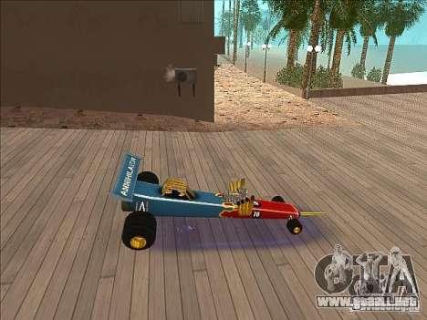 Dragg car para GTA San Andreas left