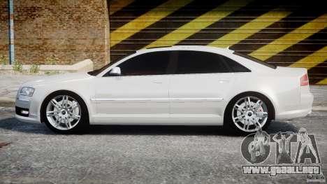 Audi S8 D3 2009 para GTA 4 left