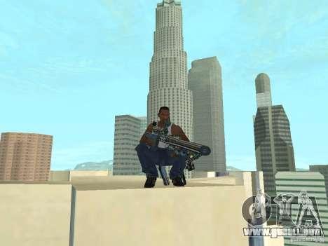 Weapons Pack para GTA San Andreas séptima pantalla