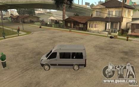 Volkswagen Crafter school bus para GTA San Andreas left