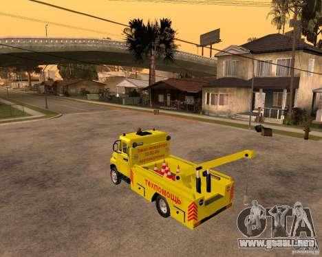 Recolector de ZIL 5301 Toro para GTA San Andreas left