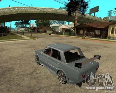 VAZ 2101 coches TUNING por ANRI para GTA San Andreas left