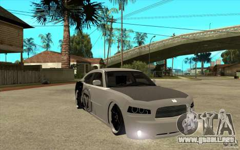 Dodge Charger SRT8 Tuning para GTA San Andreas vista hacia atrás