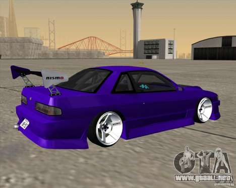 Nissan Silvia S13 Nismo tuned para GTA San Andreas left