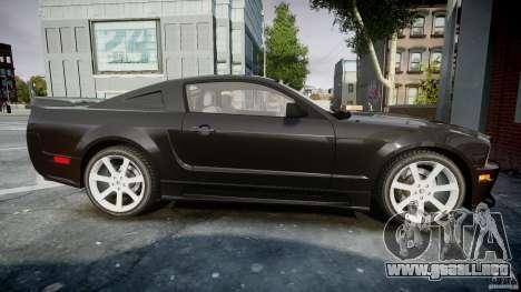 Saleen S281 Extreme Unmarked Police Car - v1.2 para GTA 4 vista interior