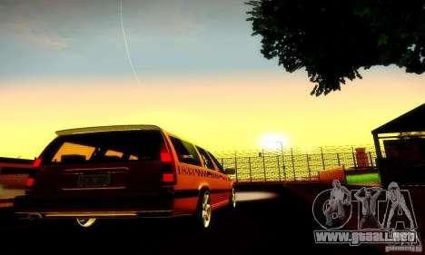 Volvo 850 R Taxi para la visión correcta GTA San Andreas