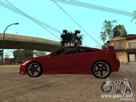 Toyota Celica Veilside para GTA San Andreas left